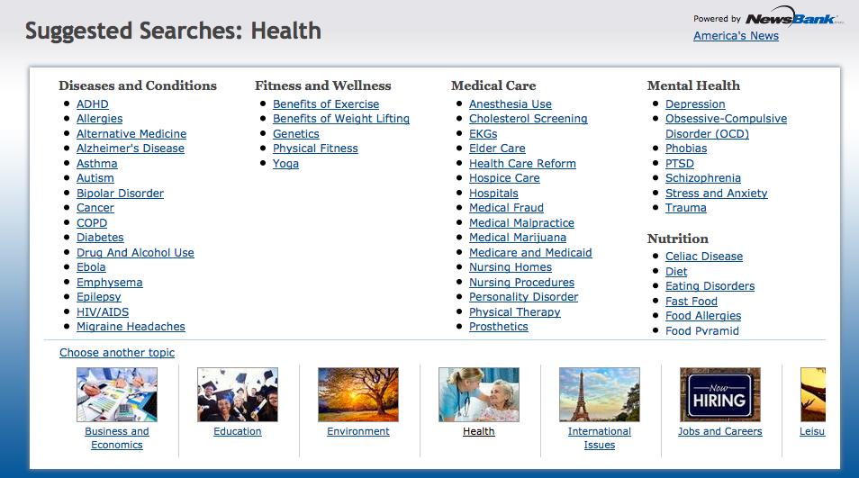 Suggested_Searches__Health___NewsBank_InfoWeb
