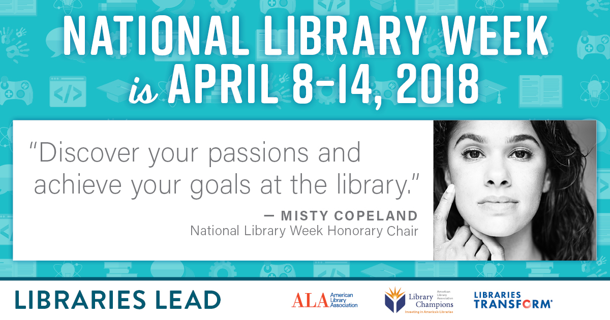 Next Week Is National Library Week – East Baton Rouge Parish